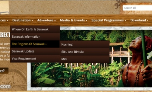 Dynamic sub menu