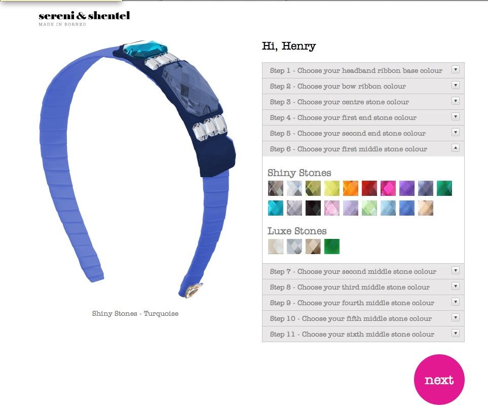 Custom Blair – Sereni & Shentel web application development (HTML 5)