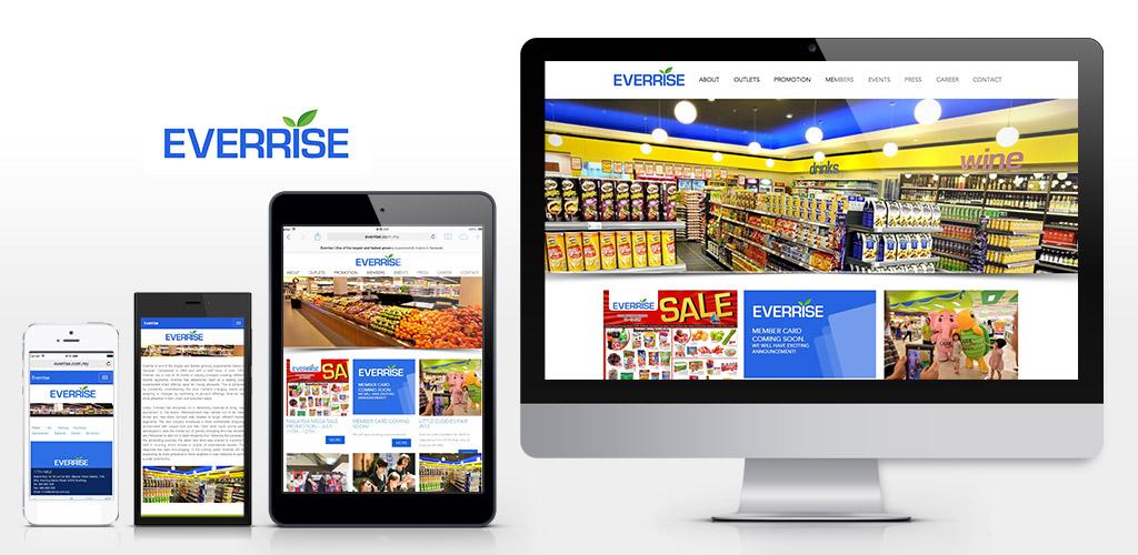 Everrise Website Design and Setup
