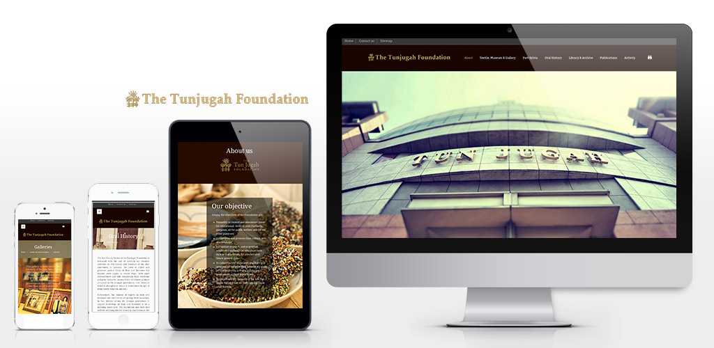 Tun Jugah Foundation official website revise and setup