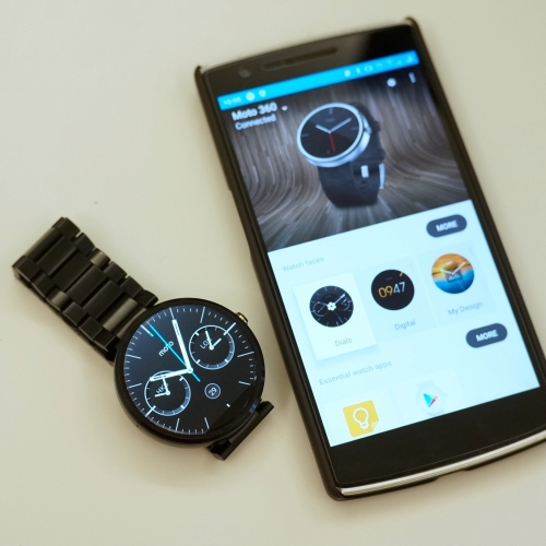 Moto 360 – my new toy