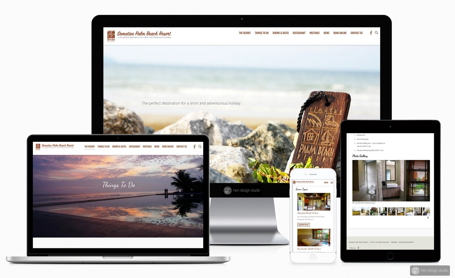 Sematan Palm Beach Resort Official Website upgrade and revise