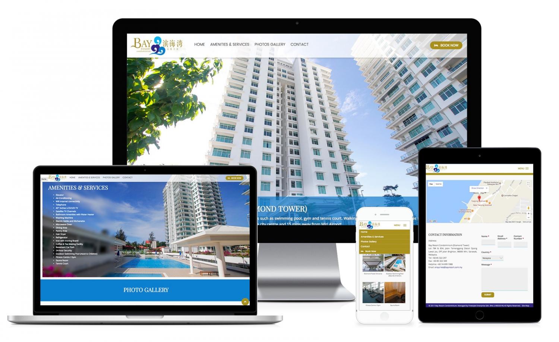 Bay Resort Condominium Website Design and Setup
