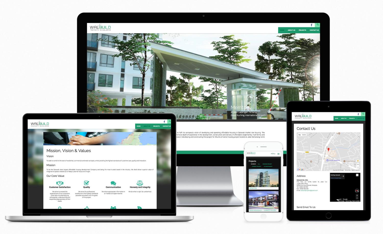 Walbuild Sdn Bhd – Property Developer Website Design