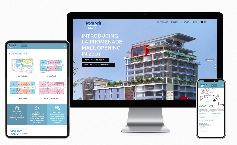 La Promenade Mall (By Hock Seng Lee Berhad) Website Design and Setup